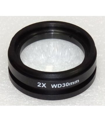 Converter lens with 2,0 magnification for STM7/STM8 and IND-C2/3 microscopes.